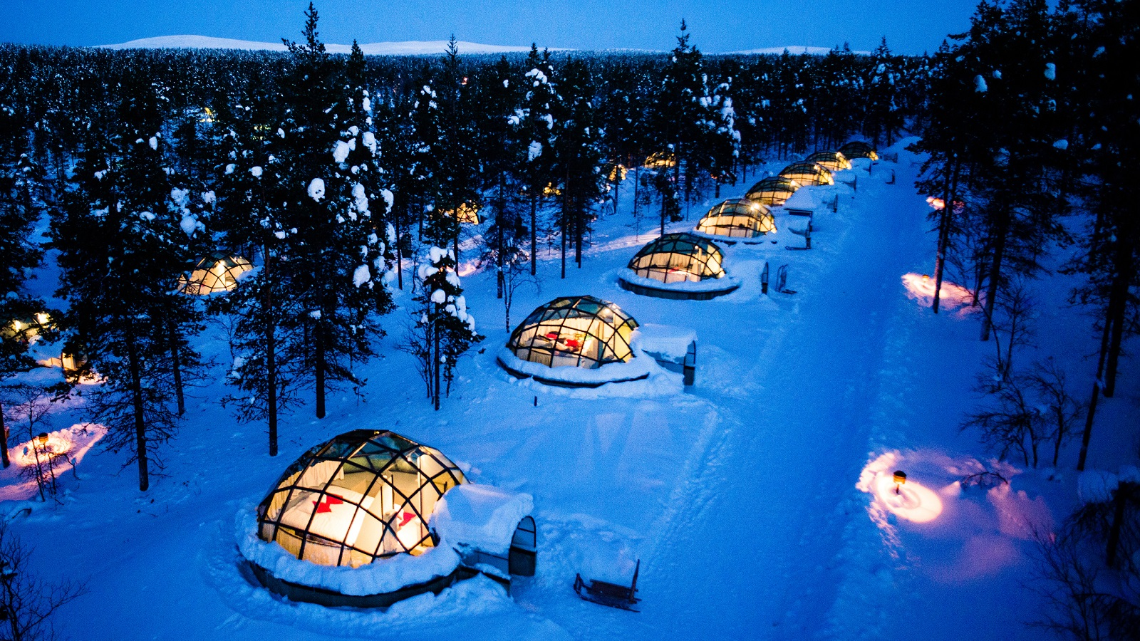 Coolest place to stay and see the Northern Lights