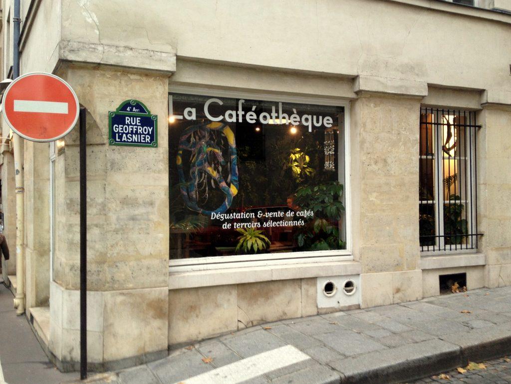 La Caféothèque, Paris