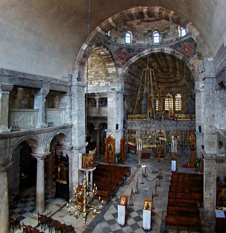 THE CHURCH OF PANAGIA EKATONTAPILIANI