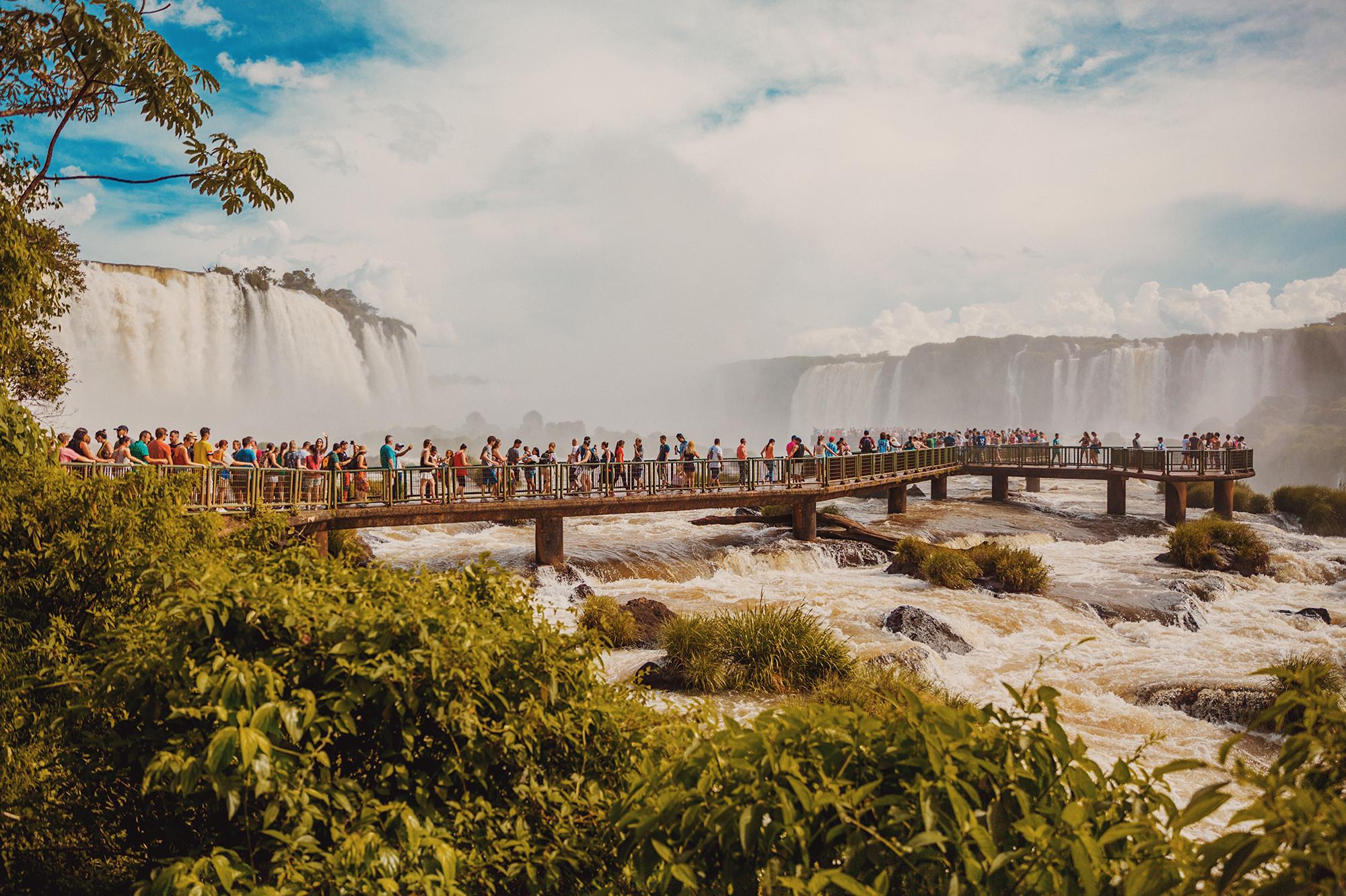 Black Panther - Argentina's Iguazu Falls